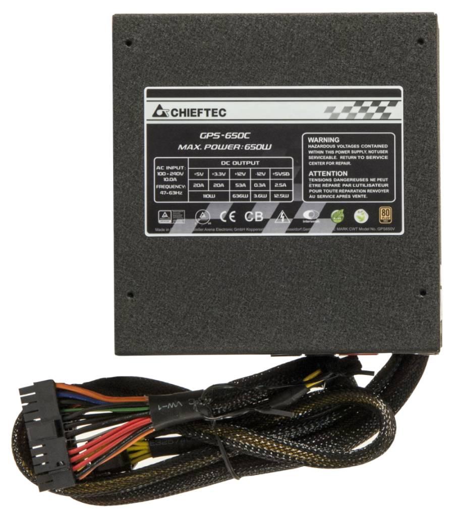 Chieftec power supply GPS-650C 650W