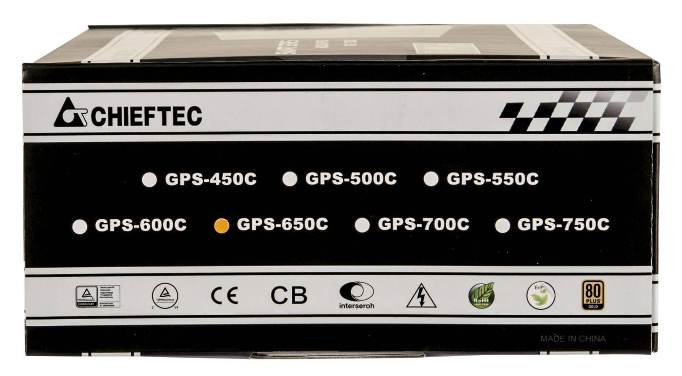 Chieftec power supply GPS-650C 650W