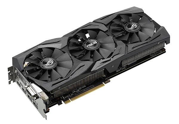 ROG Strix GeForce GTX 1080 graphics