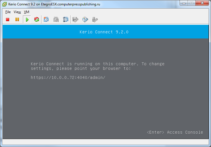 Kerio Connect 9.2 mail server